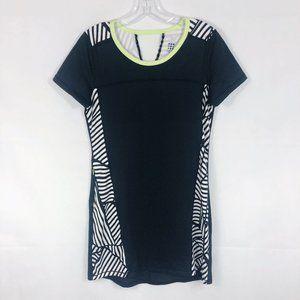 Title Nine | Black White Geometric Athletic Dress